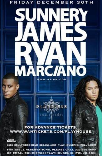 Sunnery James & Ryan Marciano @ Playhouse