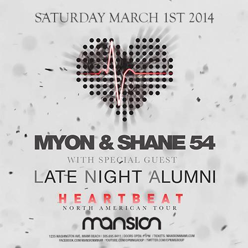 Myon & Shane 54 @ Mansion