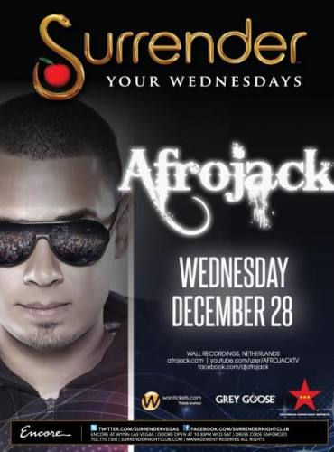 Afrojack @ Surrender (12/28)