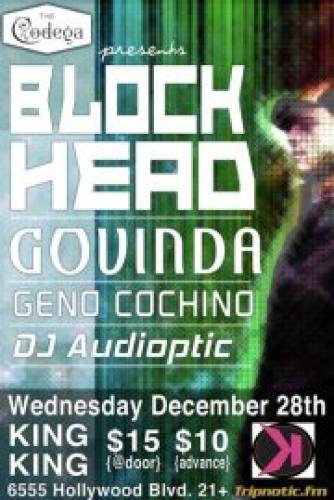 Blockhead w/ Govinda @ King King