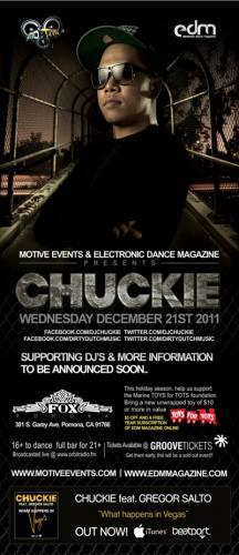 Motive & EDM Magazine Present: CHUCKIE (Dirty Dutch Records)