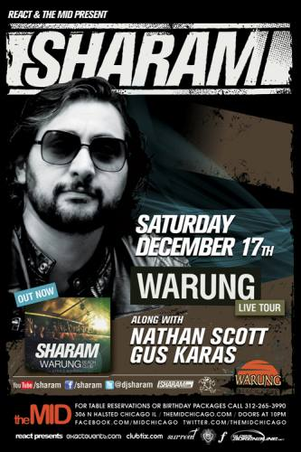 12.17 Sharam at the Mid Chicago