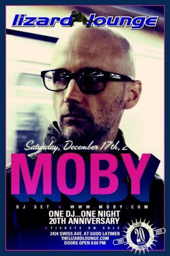 Moby @ Lizard Lounge