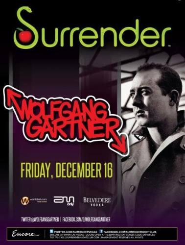Wolfgang Garter @ Surrender