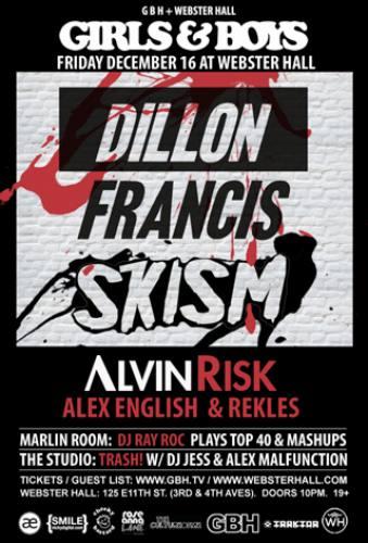 Dillon Francis & Skism @ Webster Hall