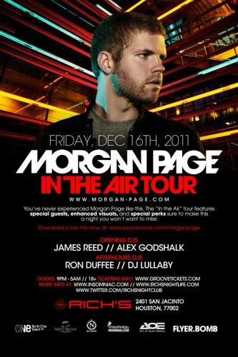 Morgan Page In the Air Tour (: Houston, TX - Rich's)