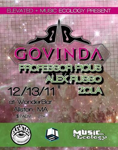 Elevated Arts & Entertainment Presents Govinda