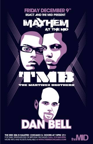 12.9 The Martinez Brothers - Mayhem at The Mid