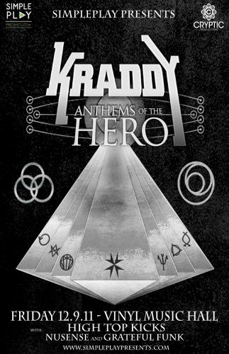 12/9/11 - KRADDY @ Vinyl Music Hall in Pensacola, FL