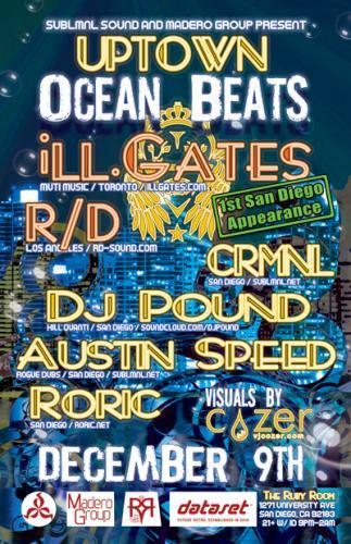 Uptown Ocean Beats: ill.Gates & R/D