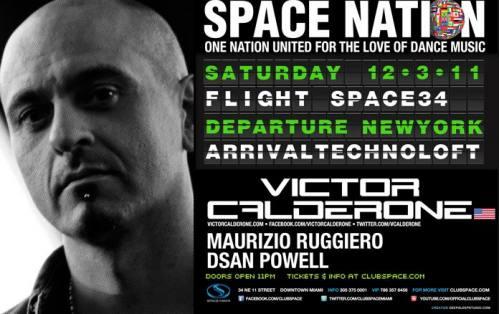Victor Calderone @ Space