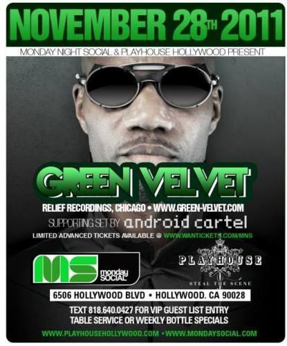 Green Velvet @ Playhouse
