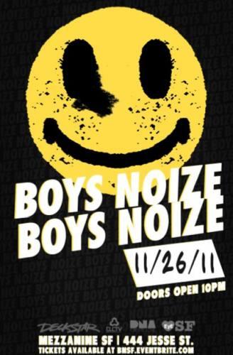 Boys Noize @ Mezzanine (11/26)