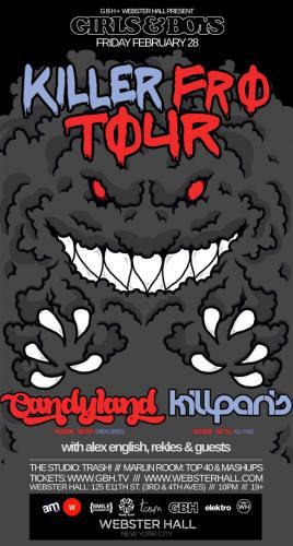Candyland & Kill Paris @ Webster Hall