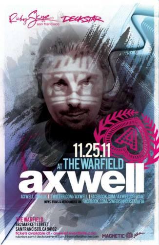 Axwell @ The Warfield