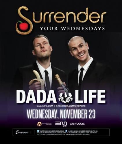 Dada Life @ Surrender (11/23)