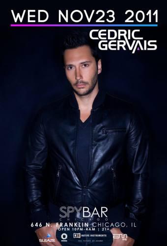 Cedric Gervais @ Spybar (11/23)