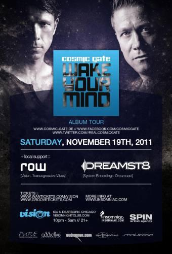 Cosmic Gate @ Vision (11/19)