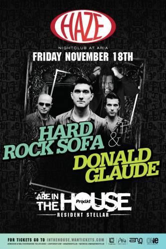 Hard Rock Sofa & Donald Glaude @ HAZE