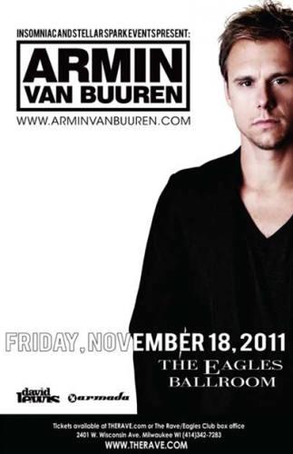 Armin van Buuren @ The Rave/Eagles Club