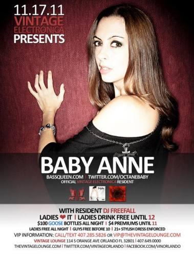 Baby Anne @ Vintage