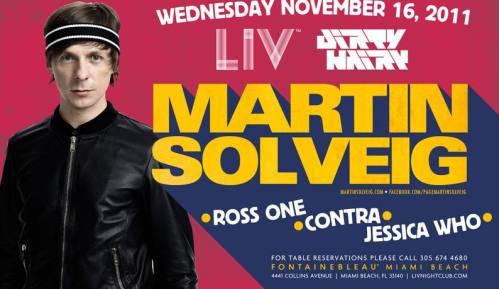 Martin Solveig @ LIV