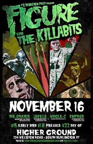 Filthington Prep presents FIGURE with THE KILLABITS