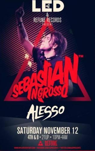 Sebastian Ingrosso @ 4th & B