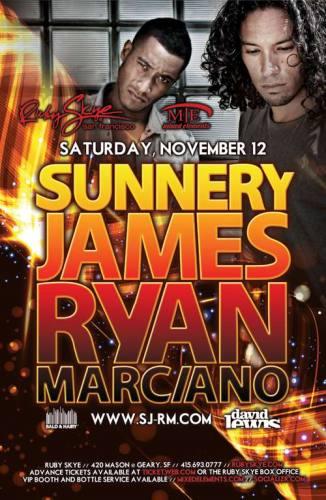 Sunnery James & Ryan Marciano @ Ruby Skye