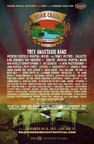 Bear Creek Music & Art Festival 2011