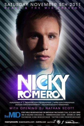 11.5 Nicky Romero - Control Saturday - The Mid