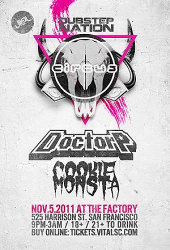 Vital Presents: DUBSTEP NATION ft. Doctor P & Cookie Monsta
