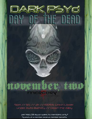 Psytrance // Day of the Dead Party // Dark PSYd NW