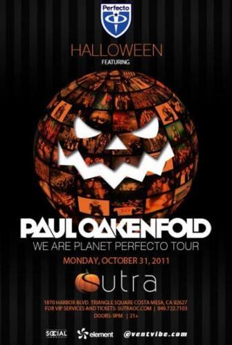 Paul Oakenfold @ Sutra (10/31)