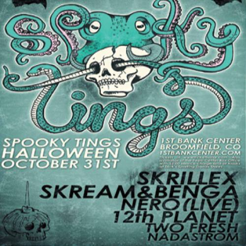 Spooky Tings w/ Skrillex and more