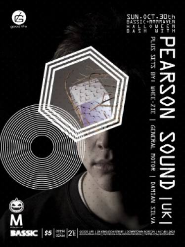 HALLOWEEN w/ PEARSON SOUND (Hessle Audio) UK