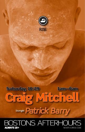 cRAIG mITCHELL @ RISE [Sat 10/29]