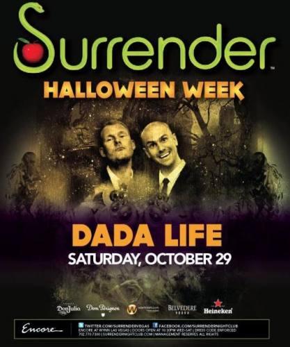 Dada Life @ Surrender (10/29)