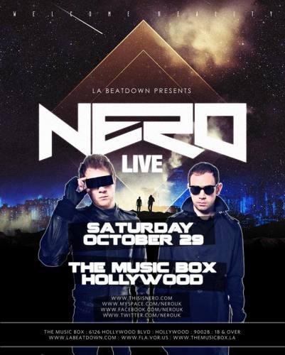 NERO @ The Music Box