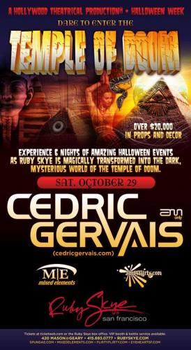 TEMPLE OF DOOM - CEDRIC GERVAIS