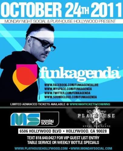 Funkagenda @ Playhouse (10/24)