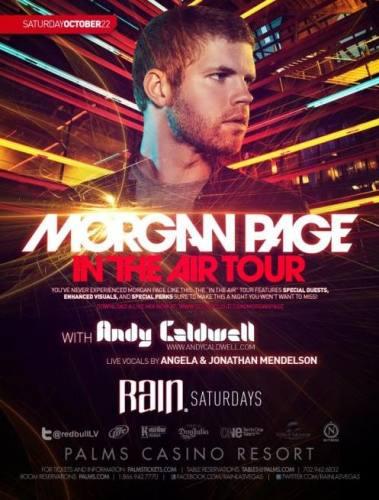 Morgan Page @ Rain
