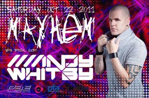 Mayhem feat:Andy Whitby