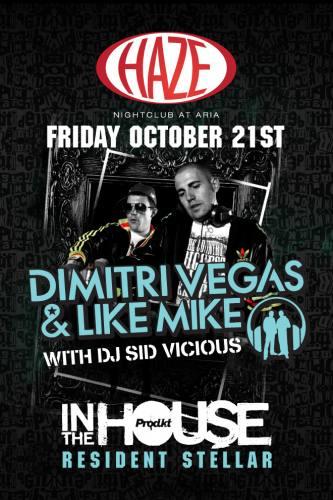 Dimitri Vegas & Like Mike @ HAZE