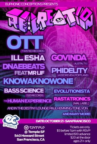 Re:Creation at Temple Feat OTT