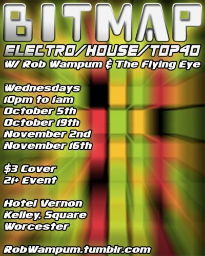 Bitmap - Electro/House/Top40 Remixes - 10/19/11