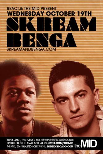 10.19 Skream, Benga, DJ Belly at The Mid