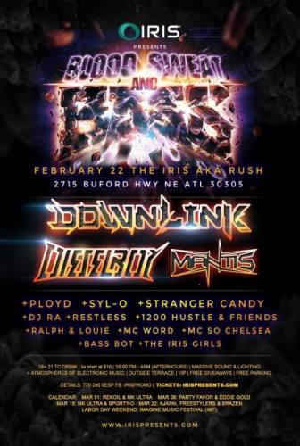 IRIS w/ Downlink & Dieselboy & Mantis
