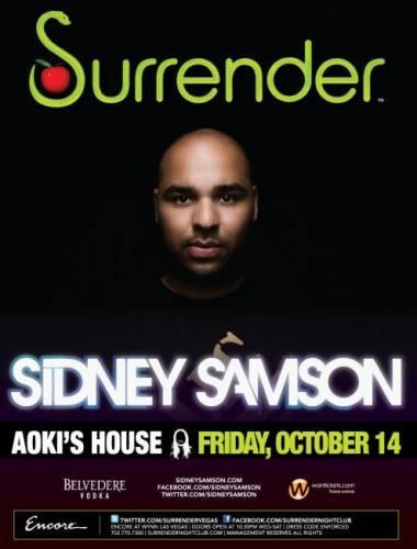 Sidney Samson @ Surrender (10/14)