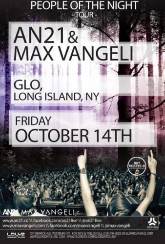 AN21 & Max Vangeli @ Glo
